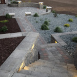 Block Steps Landscape