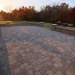 Paver patio install