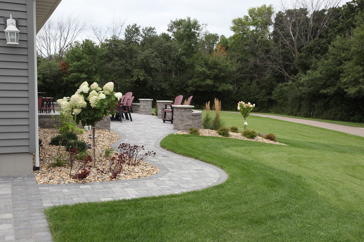 Walkways - Walkway Design - Rochester MN Landscaping - Sidewalk Ideas